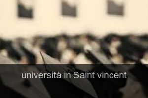 Università in Saint vincent