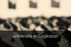 Università in Tagikistan